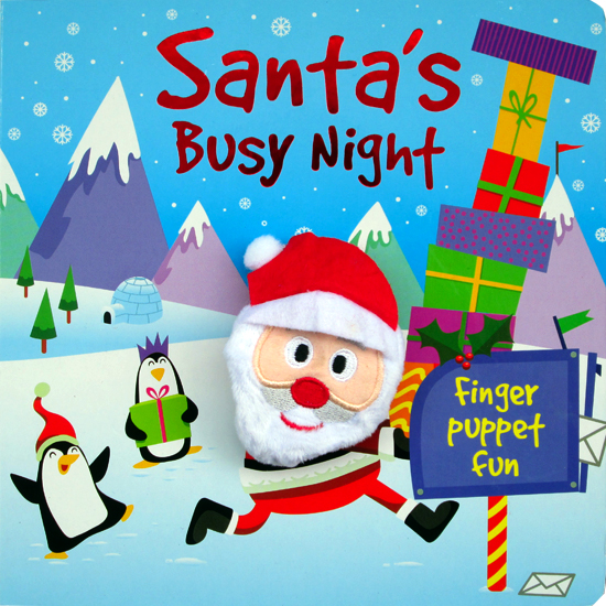 toko mainan online HERE COMES SANTA SOUND BOARD BOOK WITH 4  - 42904