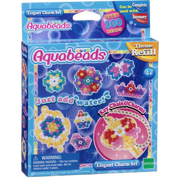 toko mainan online AQUABEADS ELEGANT CHARM SET REFILL - 31038