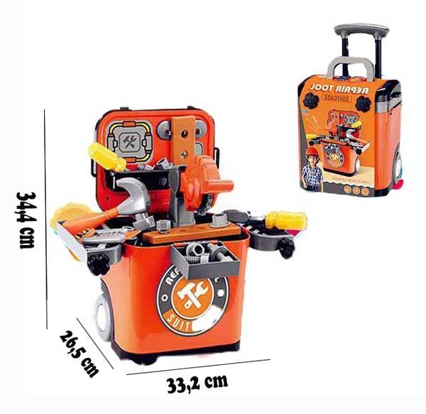 toko mainan online REPAIR TOOL SUITCASE - L666-35A