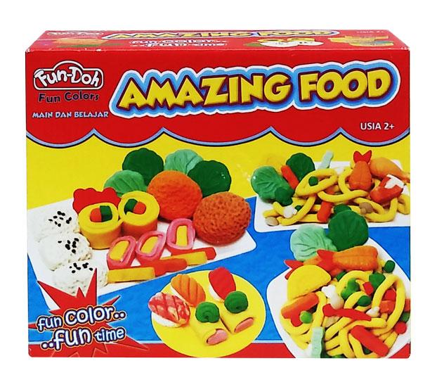 toko mainan online DOUGH AMAZING FOOD - 28020
