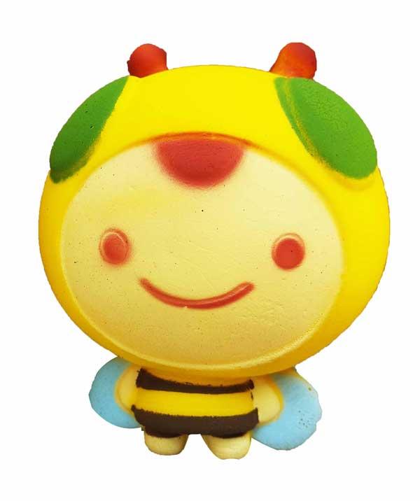 toko mainan online SQUISHY SMILE BEE - LC323