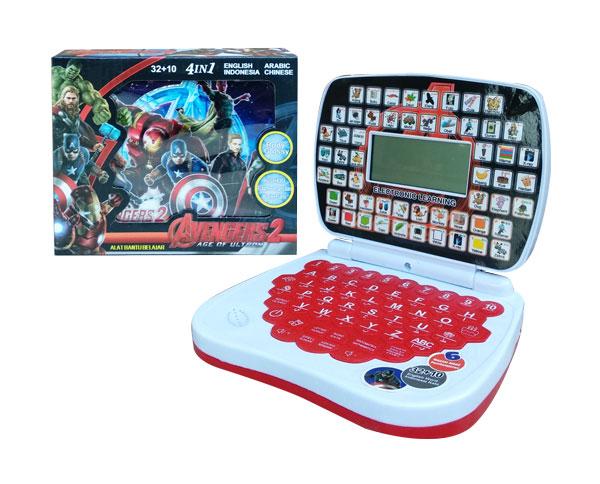 toko mainan online ALAT BANTU BELAJAR 4BHS LCD AVENGER - 789-L1
