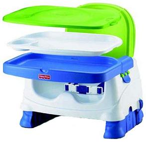 toko mainan online BABY DOES BOOSTER SEAT GREEN
