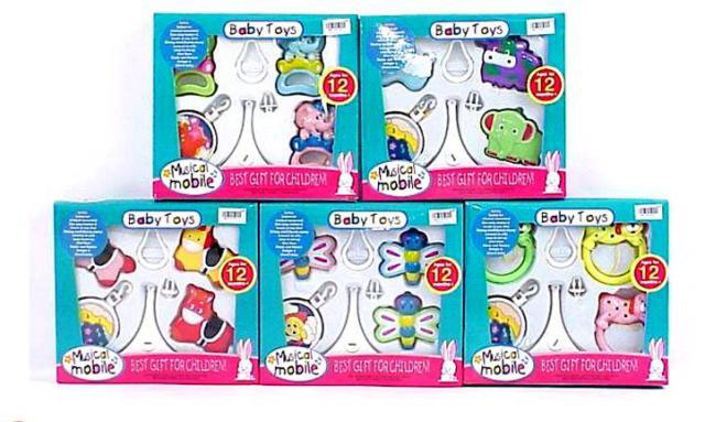 toko mainan online BABY BELL MUSICAL MOBILE