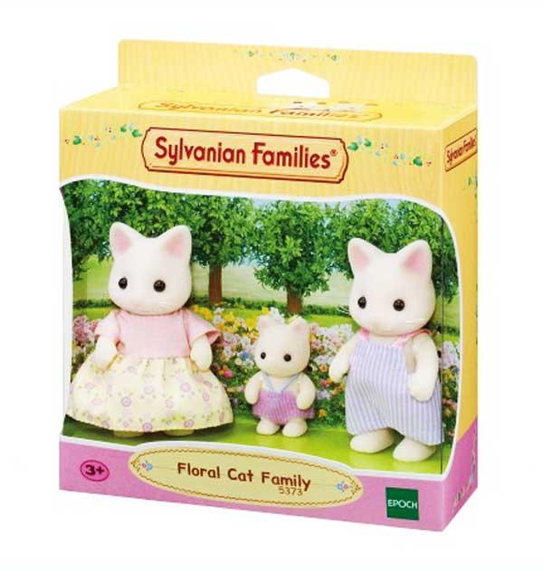 toko mainan online SYLVANIAN FLORAL CAT - 5373
