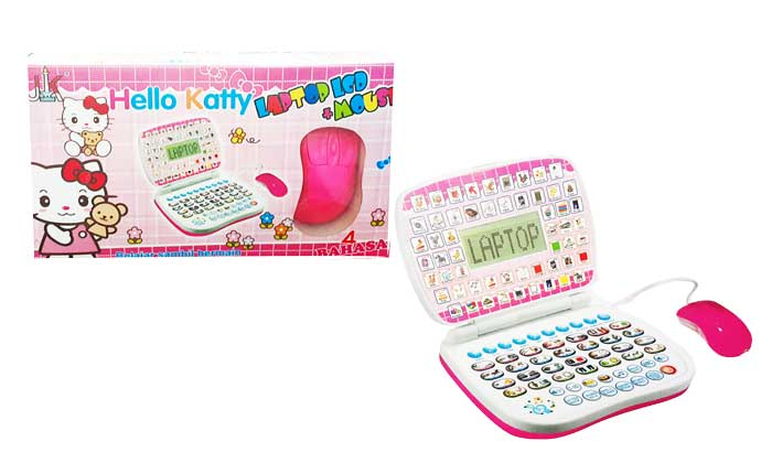 toko mainan online LAPTOP LCD MOUSE KITTY - ABB-4LM
