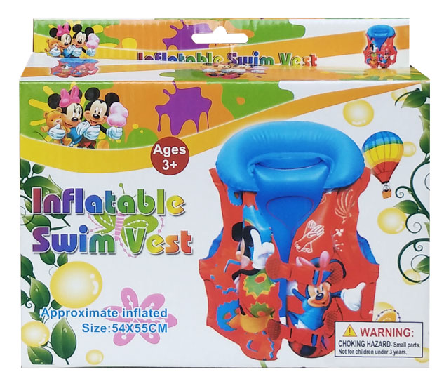 toko mainan online Swim Vest Mickey XL ST-4007-7 (gr6mx)