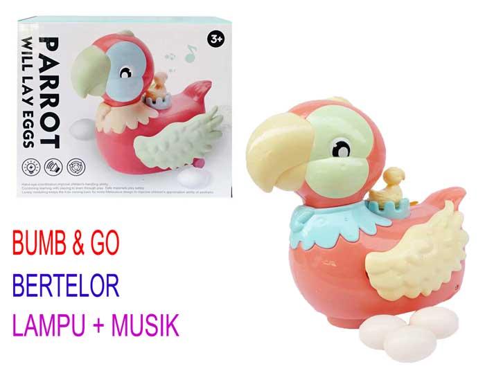 toko mainan online PARROT LAY EGGS - X-123