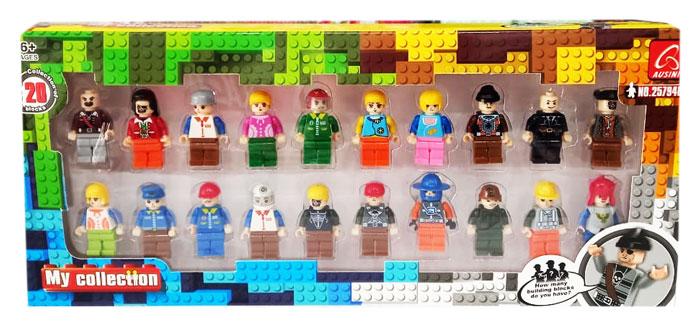toko mainan online MY COLLECTION LEGO 20 PCS - 25794B