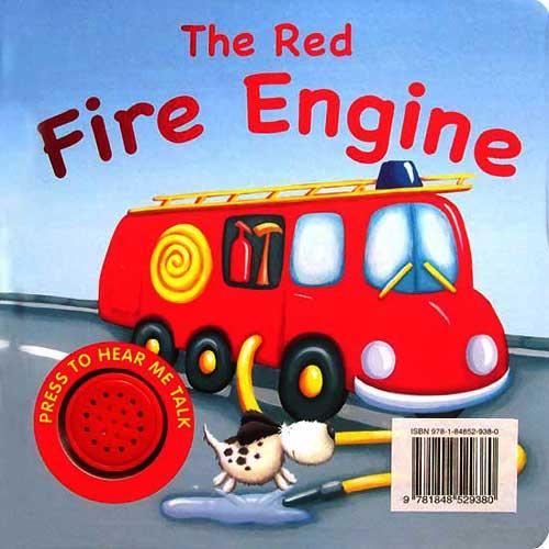 toko mainan online The Red Fire Engine Sound Boardbook