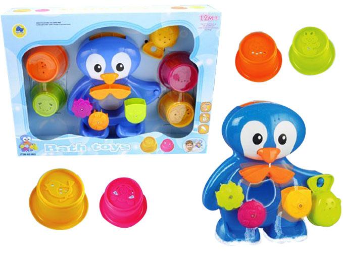 toko mainan online BABY BATH TOYS (PENGUIN) - 8802