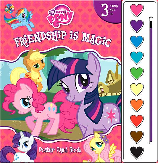 toko mainan online POSTER PAINT MY LITTLE PONY