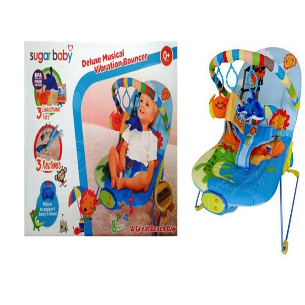 toko mainan online BOUNCER SUGAR BABY A GREAT BEACH DAY