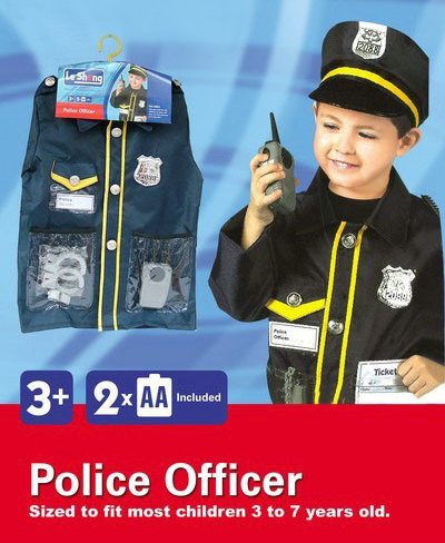 toko mainan online POLICE OFFICER COSTUME - 0952