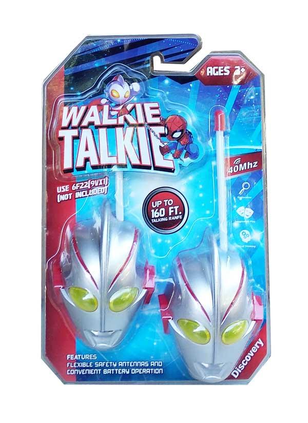 toko mainan online WALKIE TALKIE ULTRAMAN - WT-106