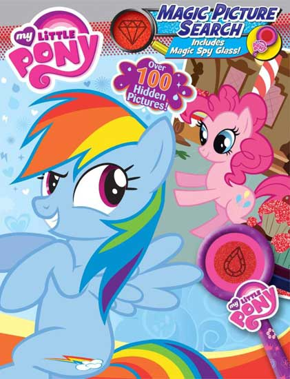 toko mainan online MY LITTLE PONY MAGIC PICTURE SEARCH