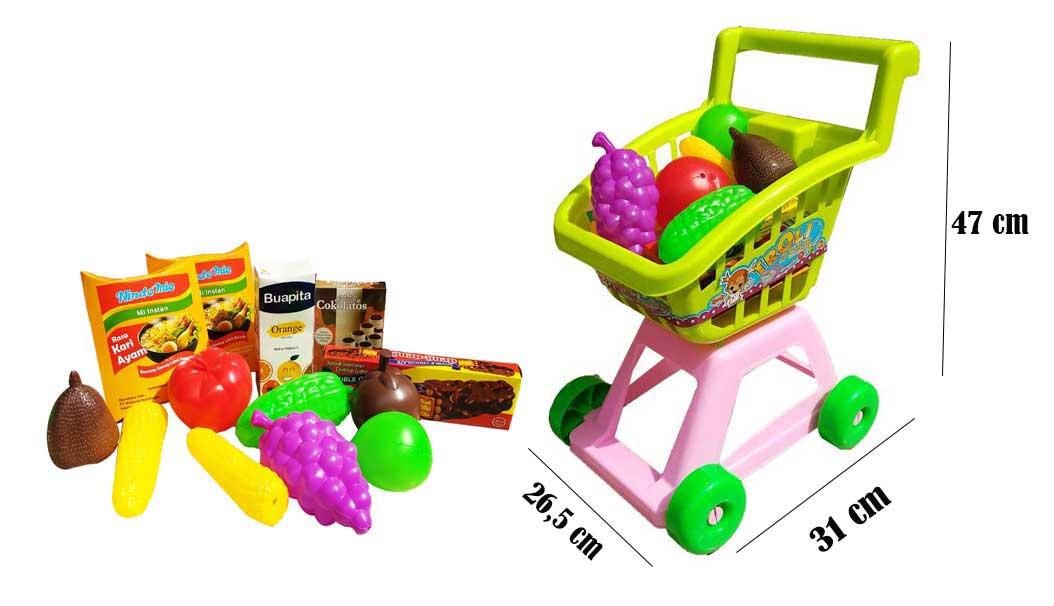 toko mainan online TROLLEY SI CANTIK - ST1612-B