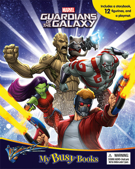 toko mainan online MY BUSY BOOK GUARDIAN OF THE GALAXY