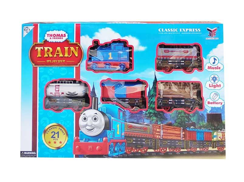 toko mainan online THOMAS TRAIN PLAYSET - 866B-1