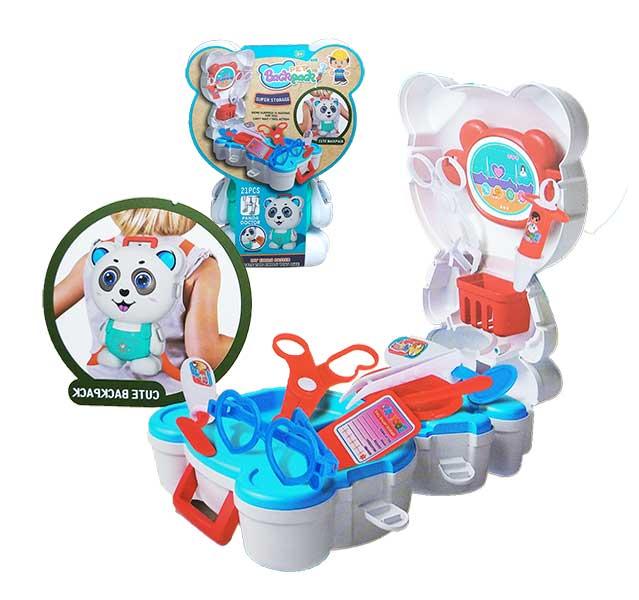 toko mainan online PET BACKPACK PANDA - L666-41