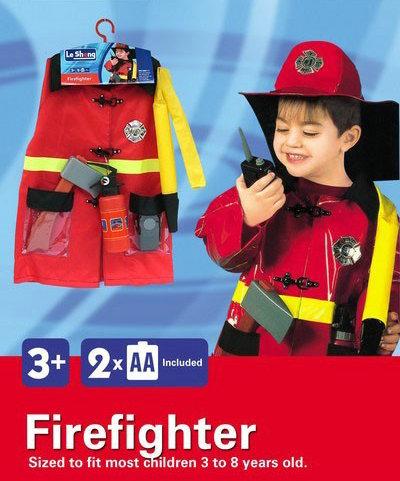 toko mainan online FIREFIGHTER COSTUME - 0951-1
