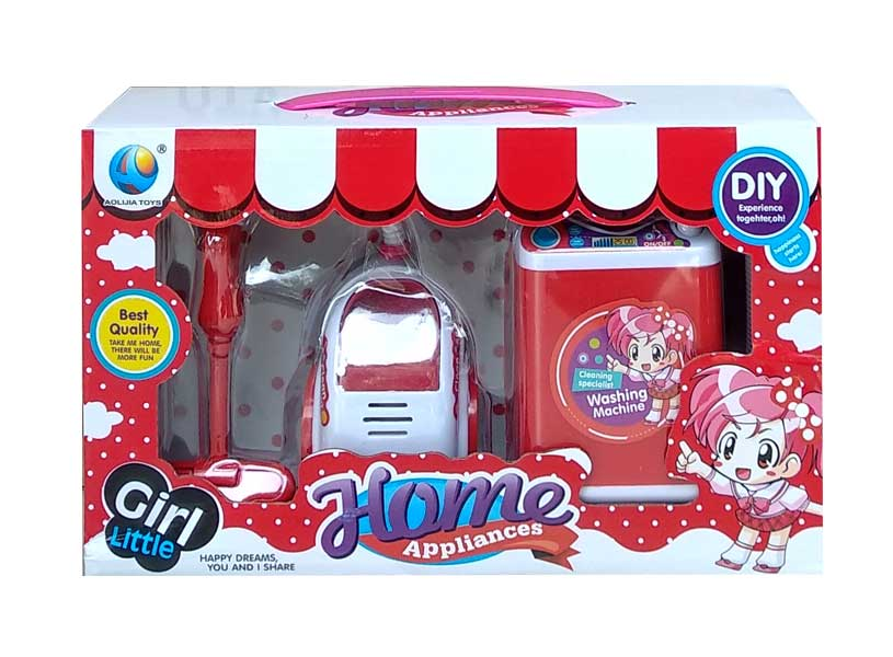 toko mainan online GIRL LITTLE VACUUM & WASHING - 398-87