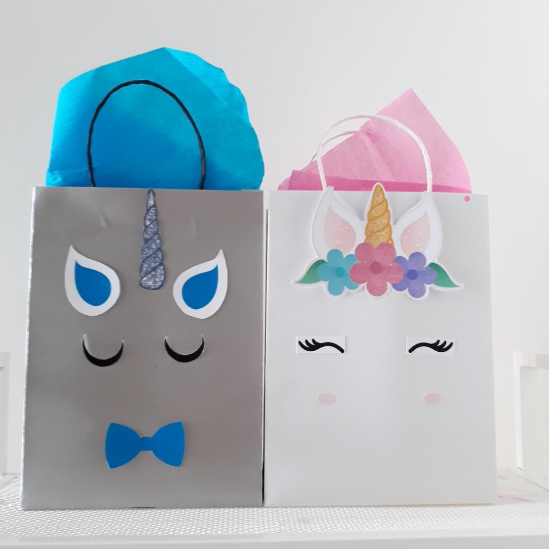 toko mainan online Add on - PAPERBAG GOODY BAG UNICORN