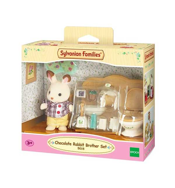 toko mainan online CHOCOLATE RABBIT brother SET - 5015