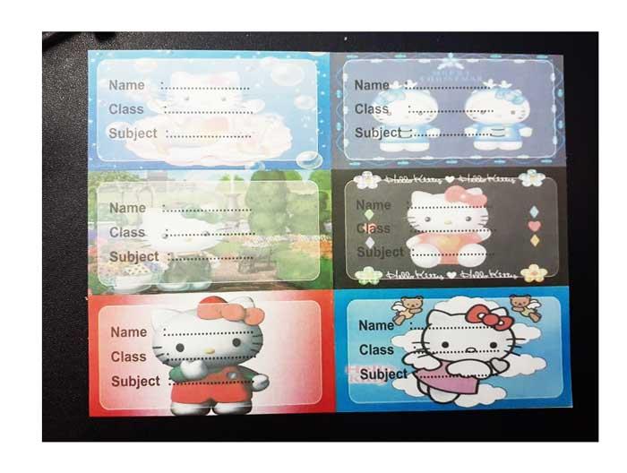 toko mainan online STIKER NAMA - LC106