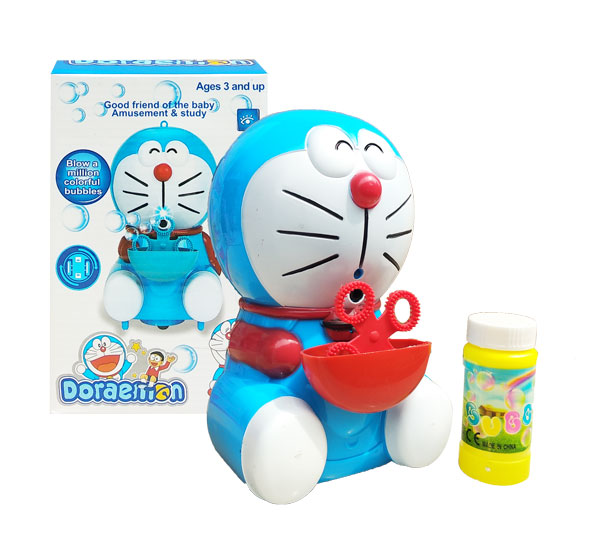 toko mainan online DORAEMON BUBBLE LIGHT & MUSIC - 0380