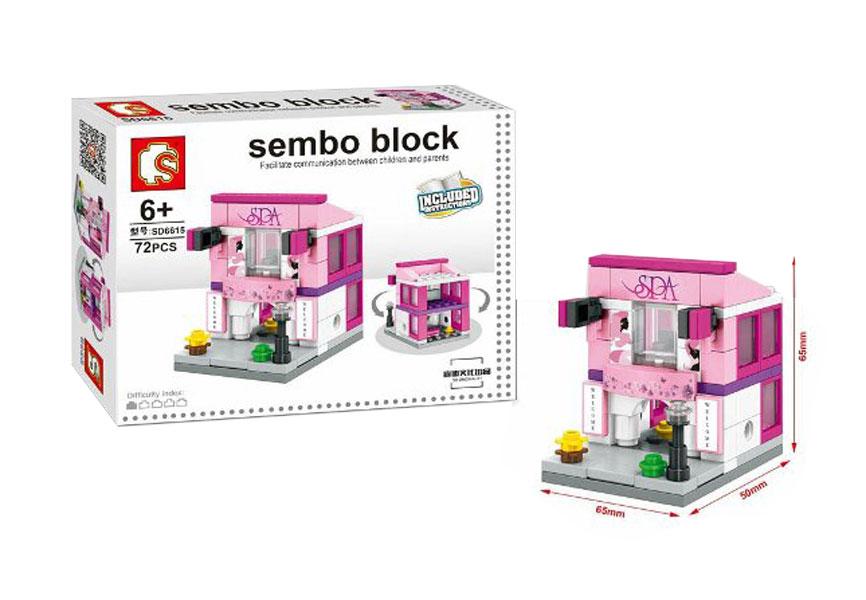 toko mainan online SEMBO BLOCK SPA 72PCS - SD6615