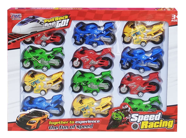 toko mainan online PULLBACK AND GO MOTOR - 3599B-3 (set)