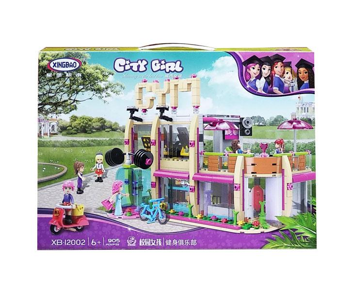 toko mainan online CITY GIRL 905PCS - XB-12002