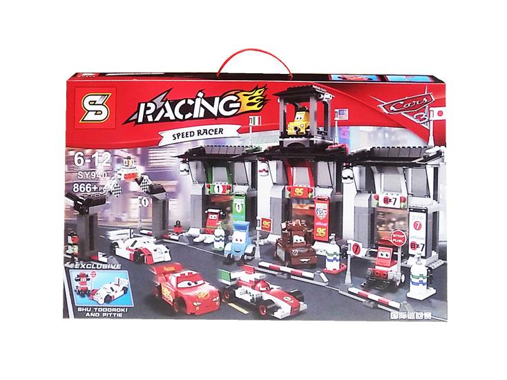toko mainan online RACING CARS SPEED RACING 866PCS - SY940