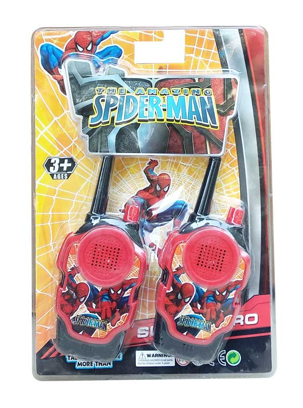 toko mainan online WALKIE TALKIE SPIDERMAN - 2290