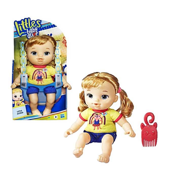 toko mainan online LITTLES BABY ALIVE ASTRID - E8409