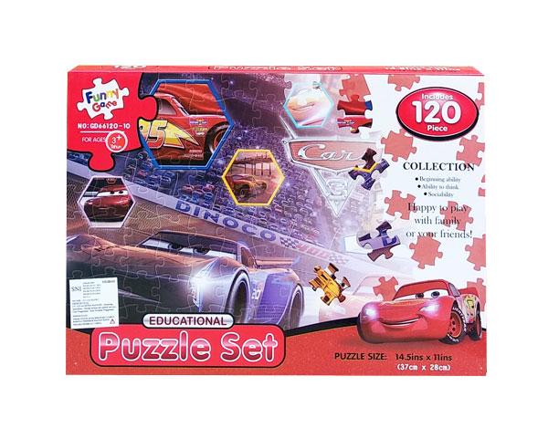 toko mainan online PUZZLE SET CARS - GD66120-10