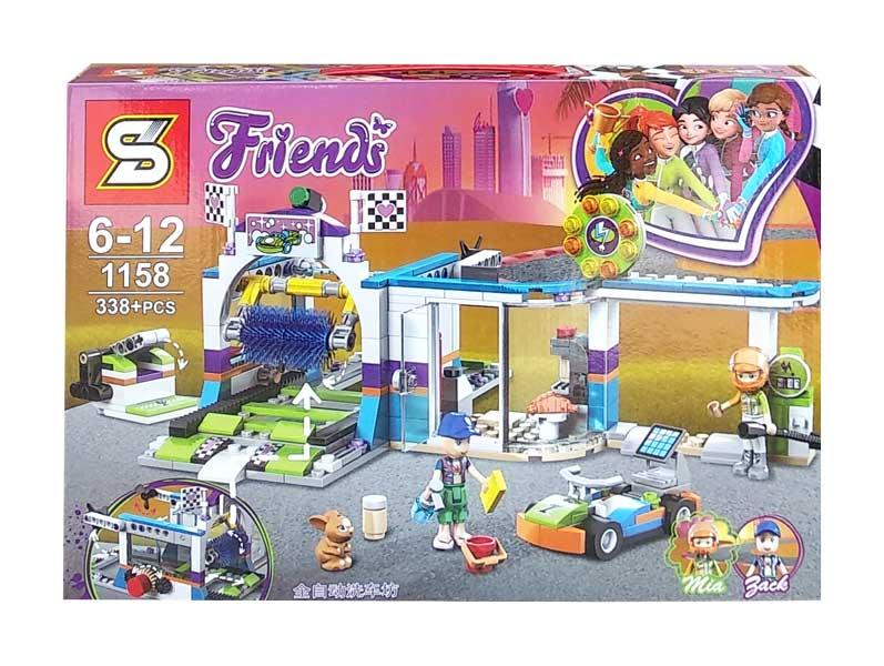 toko mainan online BLOCK FRIENDS MIA JACK 338PCS - 1158