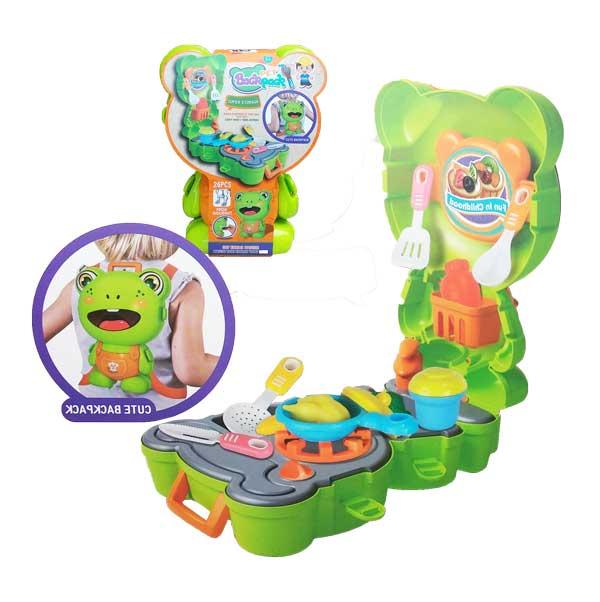 toko mainan online PET BACKPACK FROG - L666-42