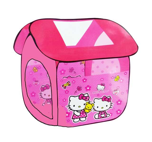 toko mainan online TENDA RUMAH HELLO KITTY - 8009HK2