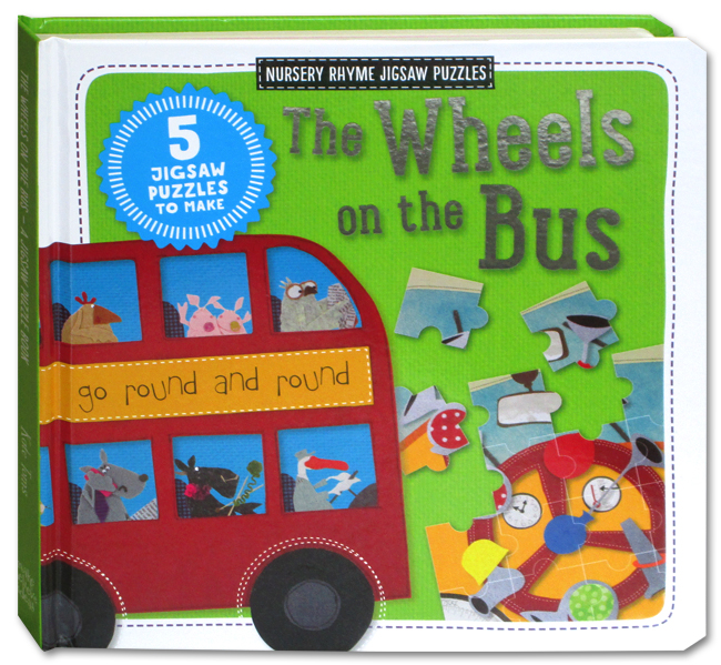 toko mainan online THE WHEELS ON THE BUS JIGSAW - 920133