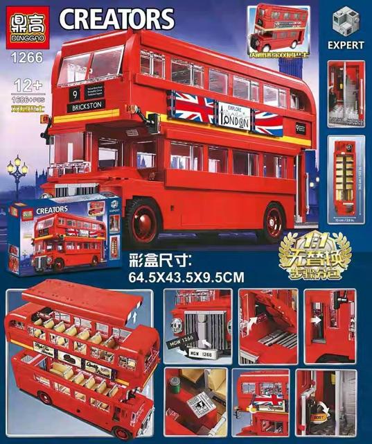 toko mainan online BLOCK CREATORS BUS 1686PCS - SY1266