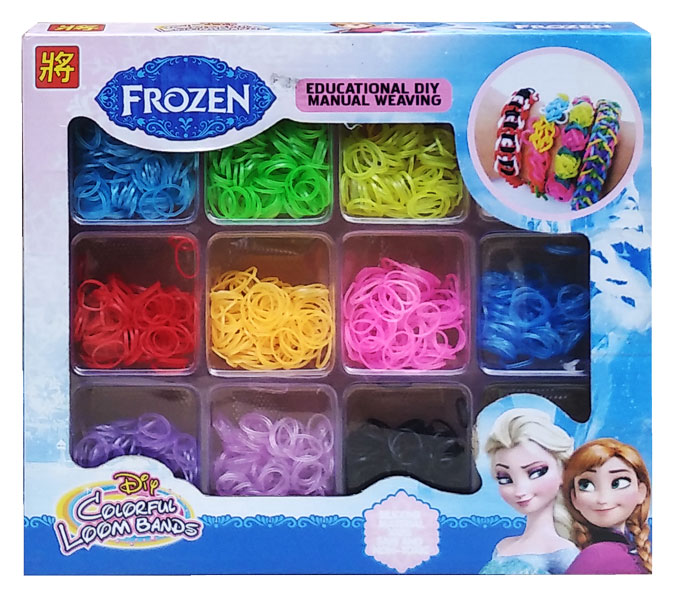 toko mainan online ISI LOOM BAND 12 WRN FROZEN
