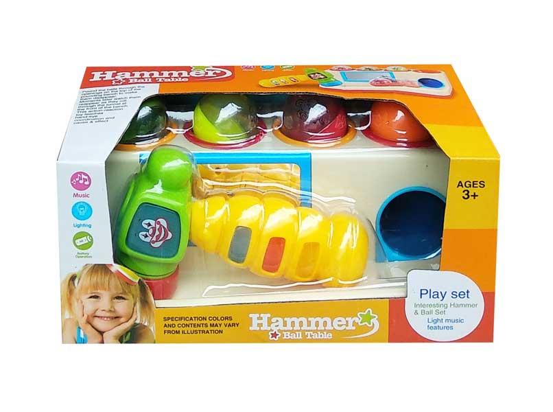 toko mainan online HAMMER BALL TABLE - 332