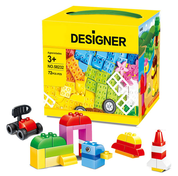 toko mainan online WANGE DESIGNER 72PC - 58232