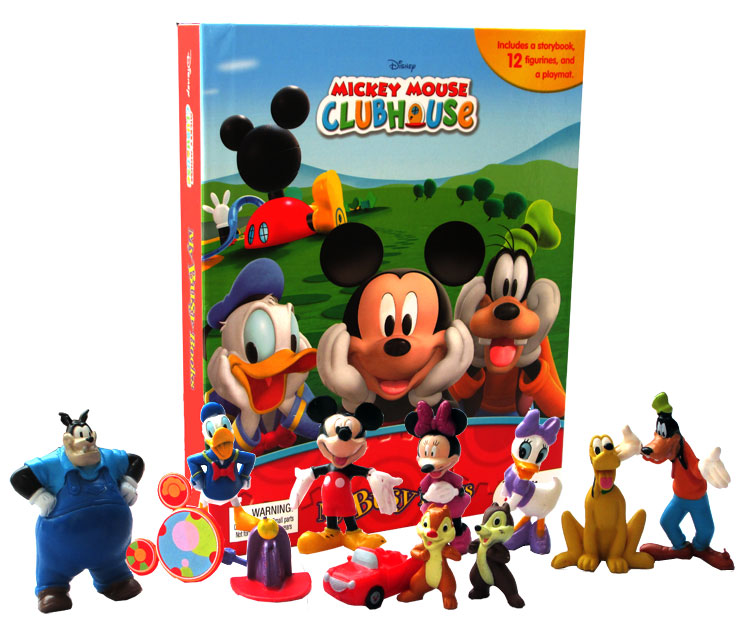 toko mainan online My Busy Book Mickey Mouse Clubhouse