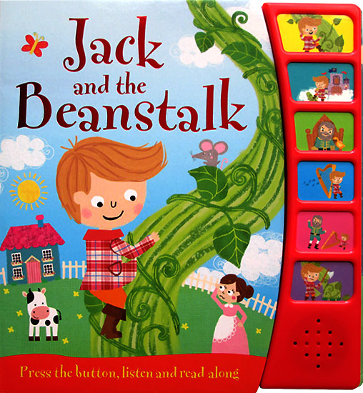 toko mainan online Jack and the Beanstalk Noisy Readers Board Book