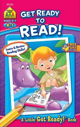toko mainan online School Zone Get Ready to Read! A Little Get Ready! Book (Learn & Review Reading Skills!)