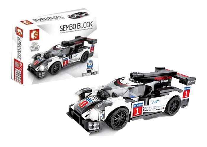 toko mainan online SEMBO CAR 180PCS - 607011