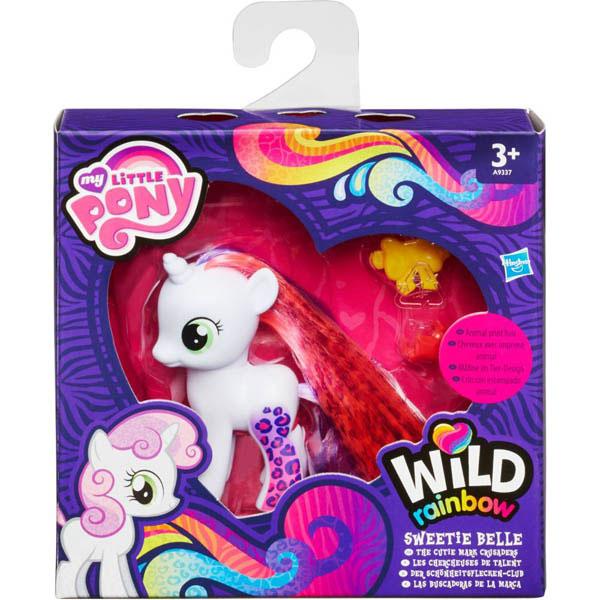 toko mainan online WILD RAINBOW SWEETIE BELLE - A9337